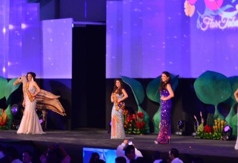 Tabasco vibra al conocer a las 5 semifinalistas de la Elección de la Flor Tabasco 2017