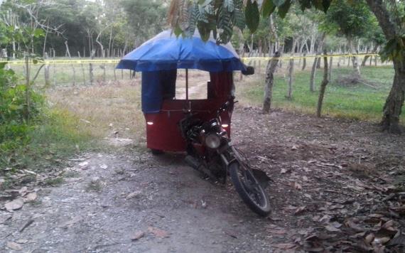 Chofer de pochimovil es ejecutado en Jalpa de Méndez