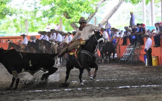 Continuará la acción del XLI Congreso y Campeonato Estatal Charro en Cunduacán
