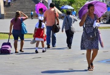 Pronostican temperatura de 42 grados en Tabasco