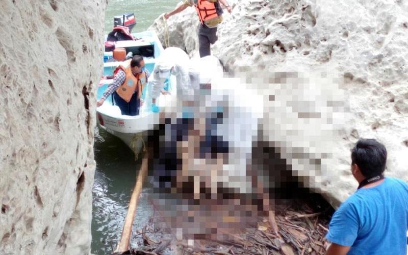 Restos de hombre mutilado aparecen en el Río Usumacinta