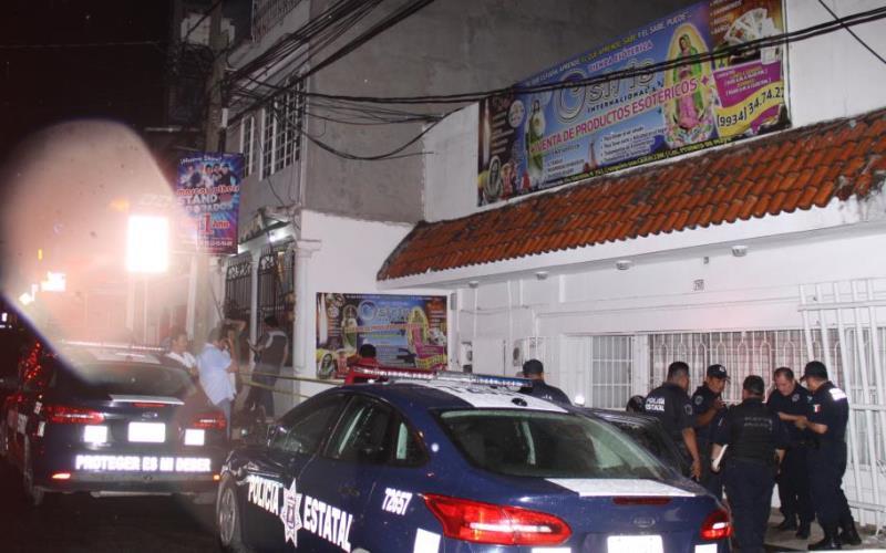 Asesinan a colombiano en tienda esoterismo en Villahermosa