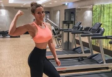 Bloguera fitness muere al explotarle lata de crema batida