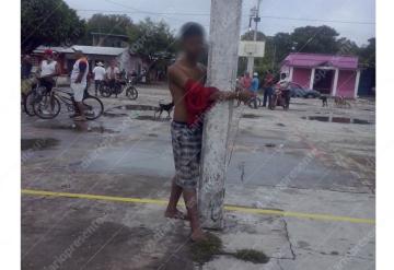 Vecinos linchan a supuesto ladrón en Cárdenas
