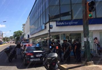 Asaltan a cuentahabiente en las afueras de Bancomer |Villahermosa