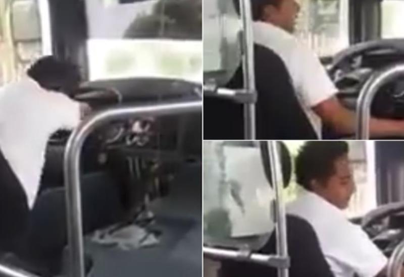 """Un chófer canta con el """"corazón roto"""" y se hace viral en redes"""