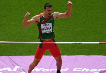 Mexicano Edgar Rivera llega a final en Mundial de Atletismo