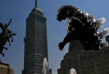 Godzilla vendrá a la CDMX a destruir el Centro Histórico