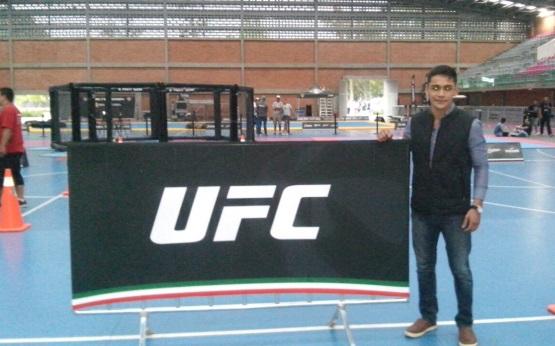 Tabasqueño sueña con UFC, inicia su camino