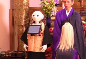 Robots realizarán ritos funerarios en Japón