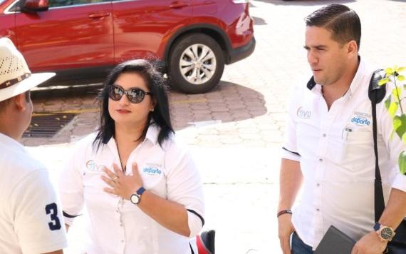 María de los Ángeles Ortiz dará propuestas para el deporte tabasqueño