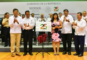 Celebra Sedesol  su 25 aniversario en Tabasco