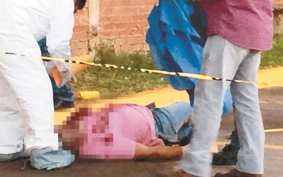 Un hombre baleado en Macuspana fue reconocido como el Bulldog, un presunto delincuente