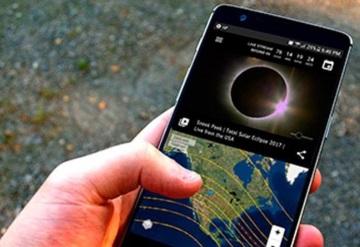 Aplicaciones para ver y seguir durante el eclipse solar