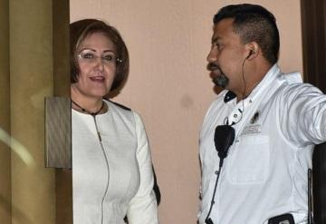 Eva Cadena denuncia ante Fiscalía de Veracruz amenazas de muerte