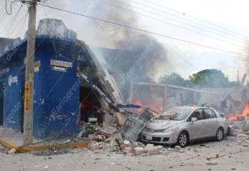 Fuerte explosión de polvorín en Frontera causa pánico en la población