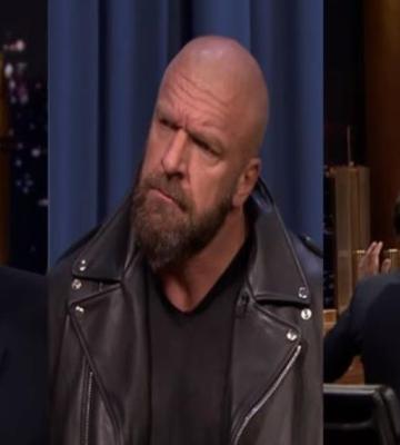 Luchador de WWE utilizó a Jimmy Fallon para destrozar una mesa en vivo