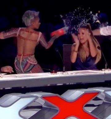 Fuerte pelea entre los jueces de America's Got Talent