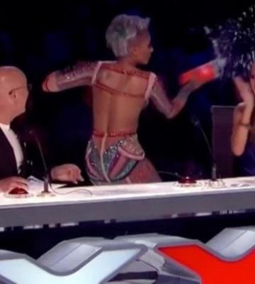 Fuerte pelea entre los jueces de America´s Got Talent