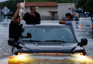 Harvey provoca inundaciones sin precedentes en Houston, Texas