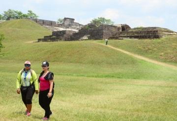 Las ruinas de Comalcalco de las más visitadas durante las vacaciones de verano