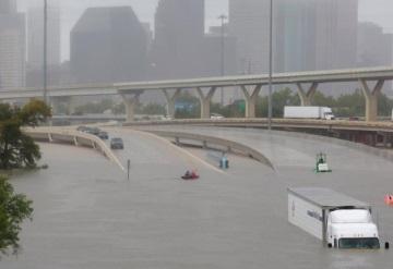 El impresionante antes y después de Houston tras el paso del huracán Harvey