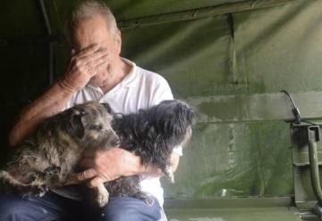 Halcones, cocodrilos,  y perros también fueron arrastrados por el huracán Harvey