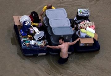 Texas comienza recuento de los daños por Harvey