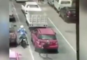 Detienen a conductor que mató a presunto asaltante