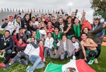 Tabasqueña y la selección de México son los reyes del Futbol Callejero