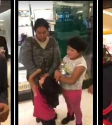 Difunden video de acto discriminatorio a una familia en Palacio de Hierro en CdMx