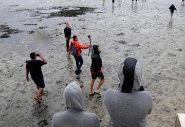 Huracán 'Irma' deja sin mar a Tampa Bay