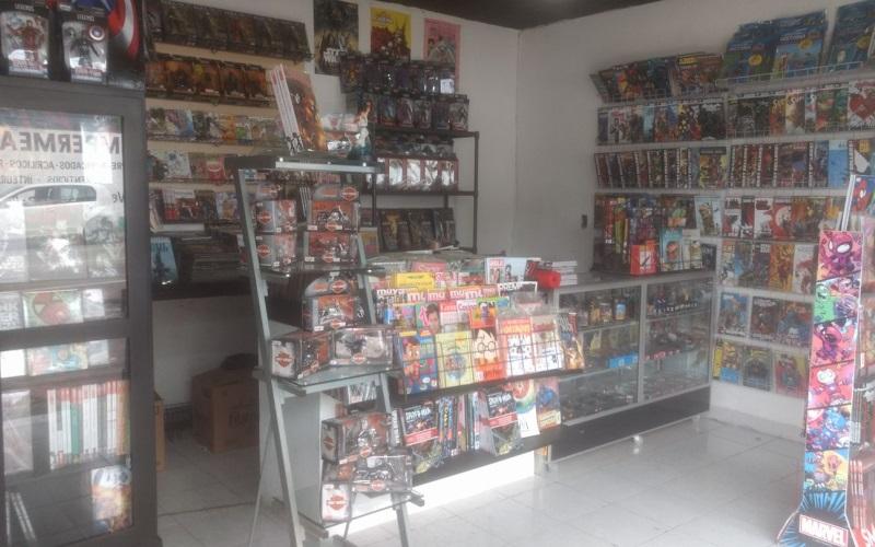 ¡Cambia víveres por comics en Villahermosa!