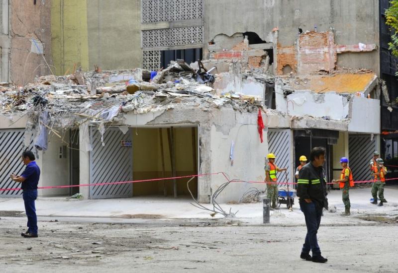 Enviado especial: Impactantes imágenes de la CDMX tras sismo