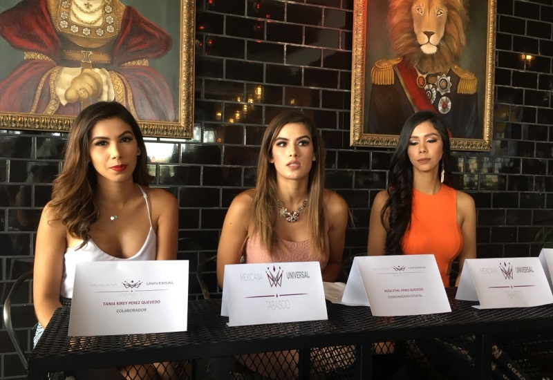 Presentan convocatoria para Mexicana Universal Tabasco