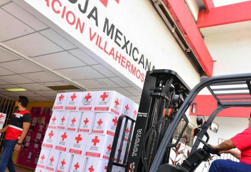 Cruz Roja envía ayuda a los estados de Oaxaca y Chiapas