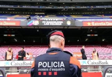Barcelona juega a puerta cerrada su partido de este domingo por el referéndum