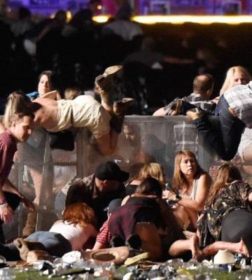 Difunden los videos del tiroteo de Las Vegas en las redes sociales