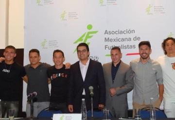 Jugadores presentan Asociación Mexicana de Futbolistas