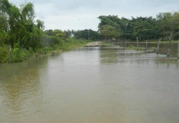 Deslave cerca de Tapijulapa, 3 municipios en riesgo de inundación