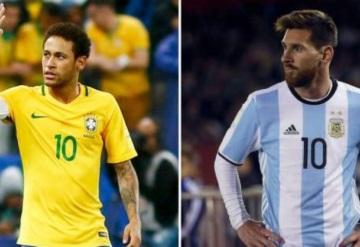 México enfrentaría a Brasil o Argentina previo a Rusia 2018
