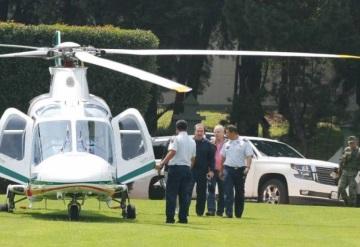 Emilio Gamboa interrumpe con helicóptero el mundial de arquería en Campo Marte