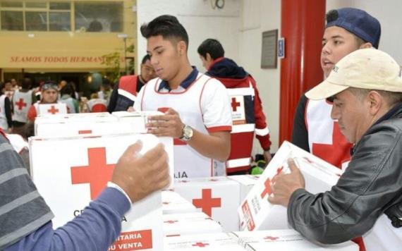 Cruz Roja Mexicana cerrará sus centros de acopio