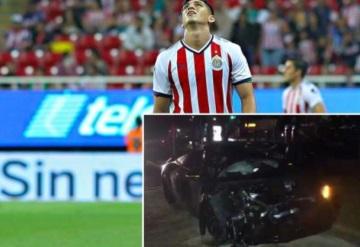 Alan Pulido involucrado en accidente donde destroza un auto de 2.5 mdp