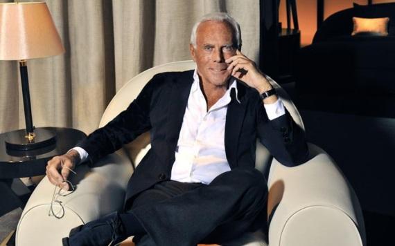 Giorgio Armani dejó la medicina para conquistar la moda