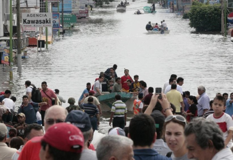 La naturaleza ataco a Tabasco; una década después de la inundación