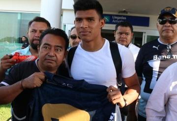 Jesús Gallardo llegó a Tabasco y afirmo que estará en Rusia 2018