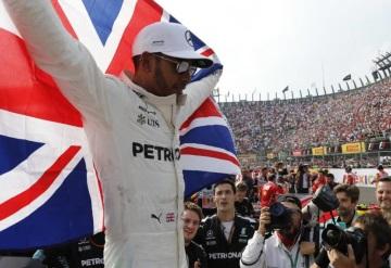 Hamilton es campeón de F1; Verstappen gana el GP de México