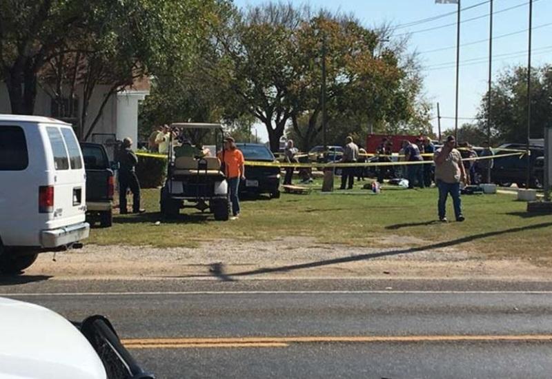 Tiroteo en iglesia de Texas deja varios muertos