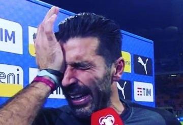 Gianluigi Buffon se despidió con lágrimas de la Azzurra